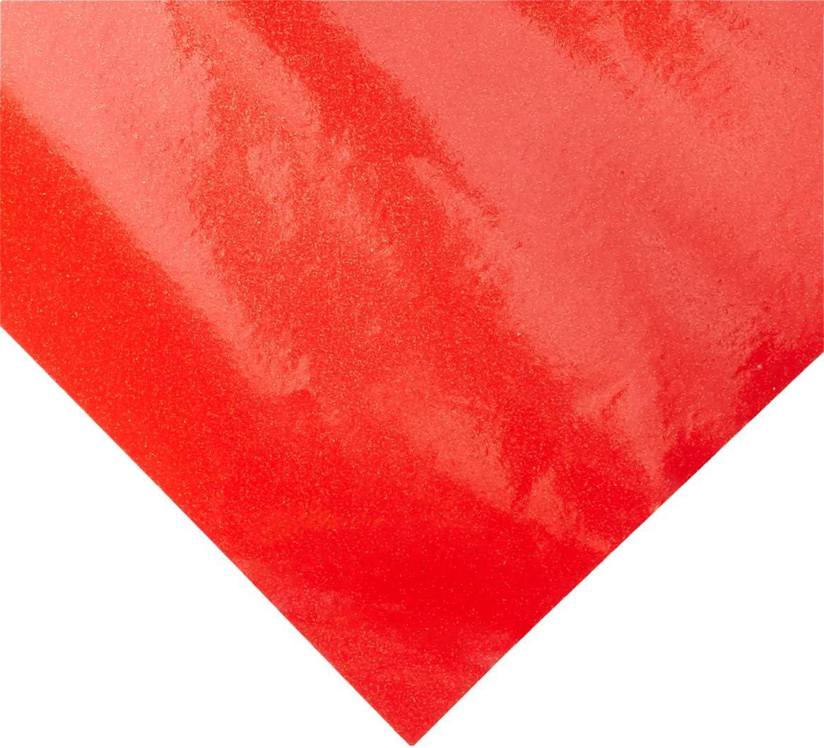 "Cricut Glitter Vinyl 12/""x48/""-crimson Red"