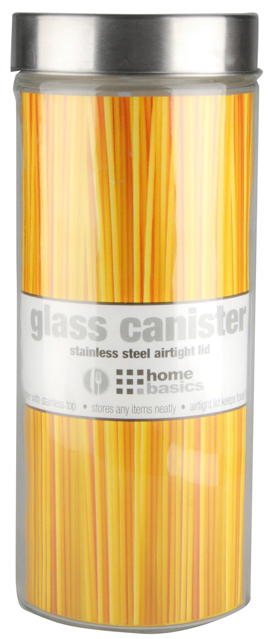 Home Basics Glass Jar, Round, X-Large