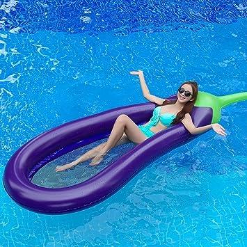 YOSPOSS - Balancín hinchable para piscina, flotador hinchable, flotador hinchable de fila de agua