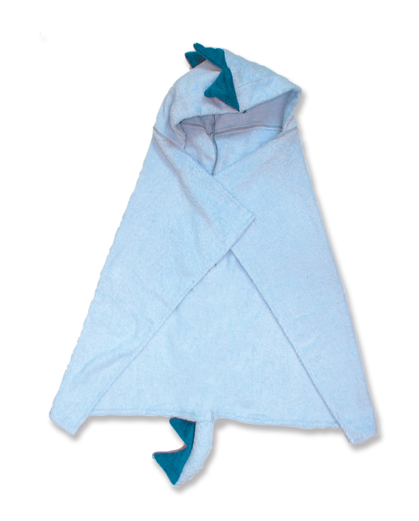 Trend-Lab Character Premier Hooded Towel, Blue Dinosaur by Trend Lab