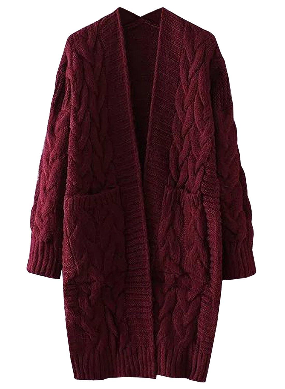 Long Sweater Coat Plus Size