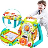 iPlay, iLearn 3 in 1 Baby Sit to Stand Walkers Toys, Kids Activity Center, Toddlers Musical Fun Table, Lights and Sounds…