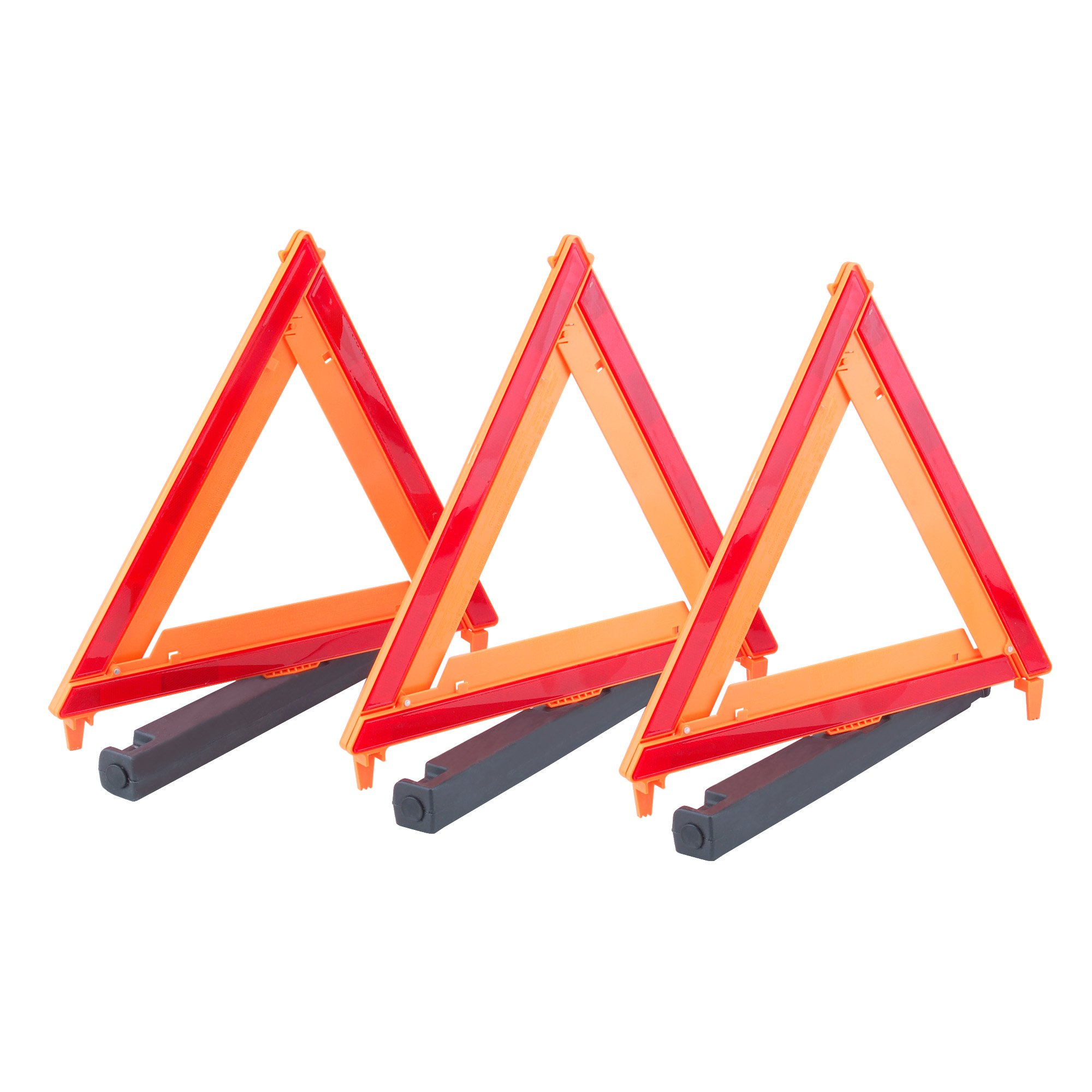 35940 MAX LOAD 3 Pack Auto Emergency Warning Triangles