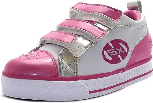 Size 11 Girl's Sparkler Heelys Metallic