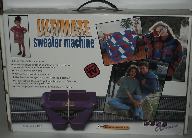 4a0646a7b Amazon.com  Bond America Ultimate Sweater Machine Knitting Machine