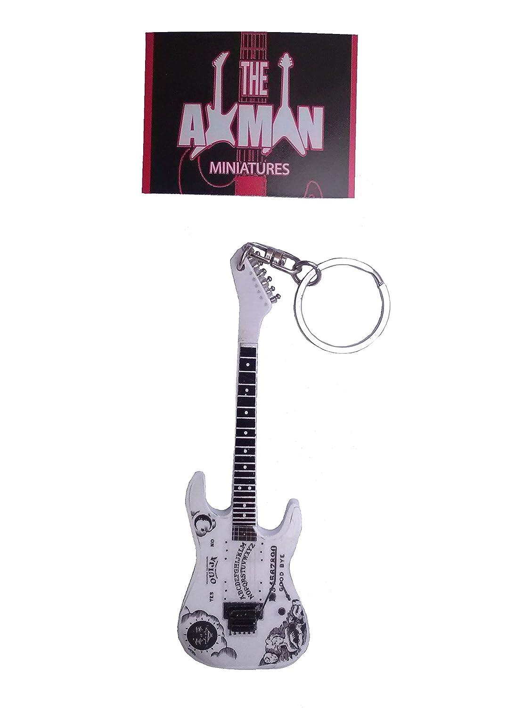 Guitarra Llaveros: Kirk Hammett Ouija Esp: Amazon.es ...
