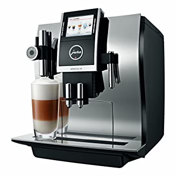 Jura Impressa Z9 One Touch TFT - Cafetera (Independiente, Cromo, Granos de café, Capuchino, Café expreso, Leche caliente, 2,8L, 1,1m): Amazon.es: Hogar