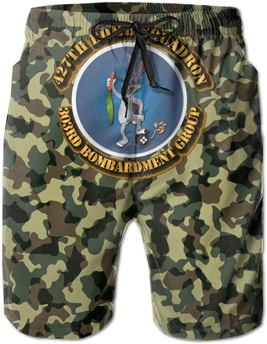 You Know And Good 427th Bomb Squadron 303rd Bombardmant Group Mens Swim Trunks Bathing Suit Beach Shorts