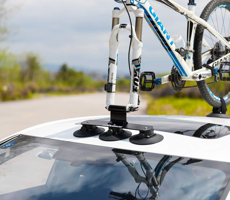suction bike rack