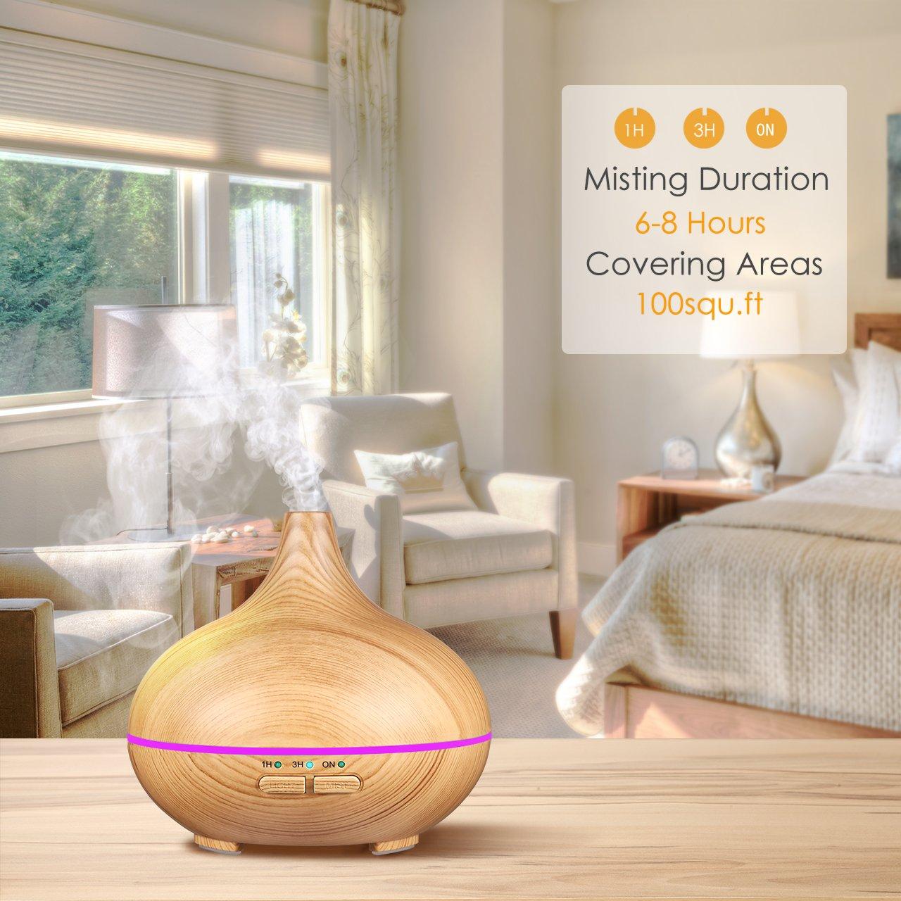 Aroma Spa Room Color ~ Galleon victsing ml mini ultrasonic aroma essential