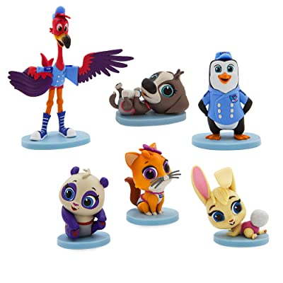 Disney T.O.T.S. 6 Figure Play Set: Toys & Games