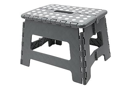 Zollner® sgabello pieghevole in plastica scalino antiscivolo pedana