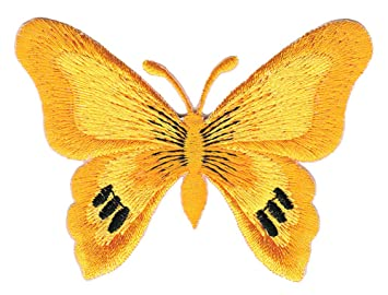 Aufn/äher B/ügelbild Schmetterling gro/ß