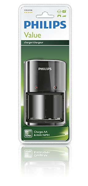 Philips SCB1410NB - Cargador de pilas (AA, AAA)