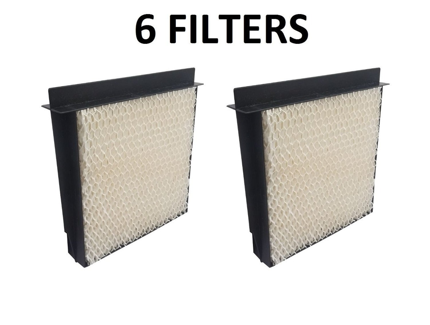 6 Pack, 1040 Humidifier Wick Filter For Bemis Aircare Essick Air B40, B40-C, Products Models D46-720, 5D6-700, 5D6700, 7000, B23, E35, and E35 000, CM330 Series.