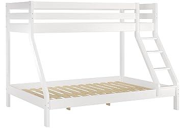 Etagenbett Weiß 90x200 : Erst holz® doppel etagenbett weiß 140x200 und 90x200 erwachsenen