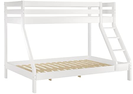 Doppel Etagenbett : Erst holz® doppel etagenbett weiß 140x200 und 90x200 erwachsenen