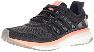 adidas Performance Women's Energy Boost 3 W Running Shoe, Midnight Grey Mid  Grey Still Breeze
