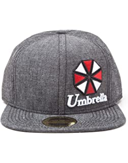 Desconocido Resident Evil Unisex Resident Evil – Umbrella Logo Snapback – Gorra de béisbol