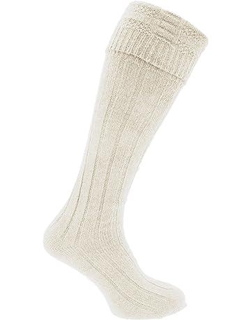3f3e7ac75 Mens Scottish Highland Wear Wool Kilt Hose Socks (1 Pair)