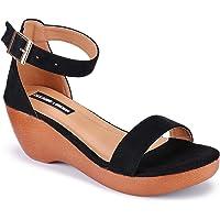 DEEANNE LONDON Woman's Single Strap Wedges Heel (DN-89)