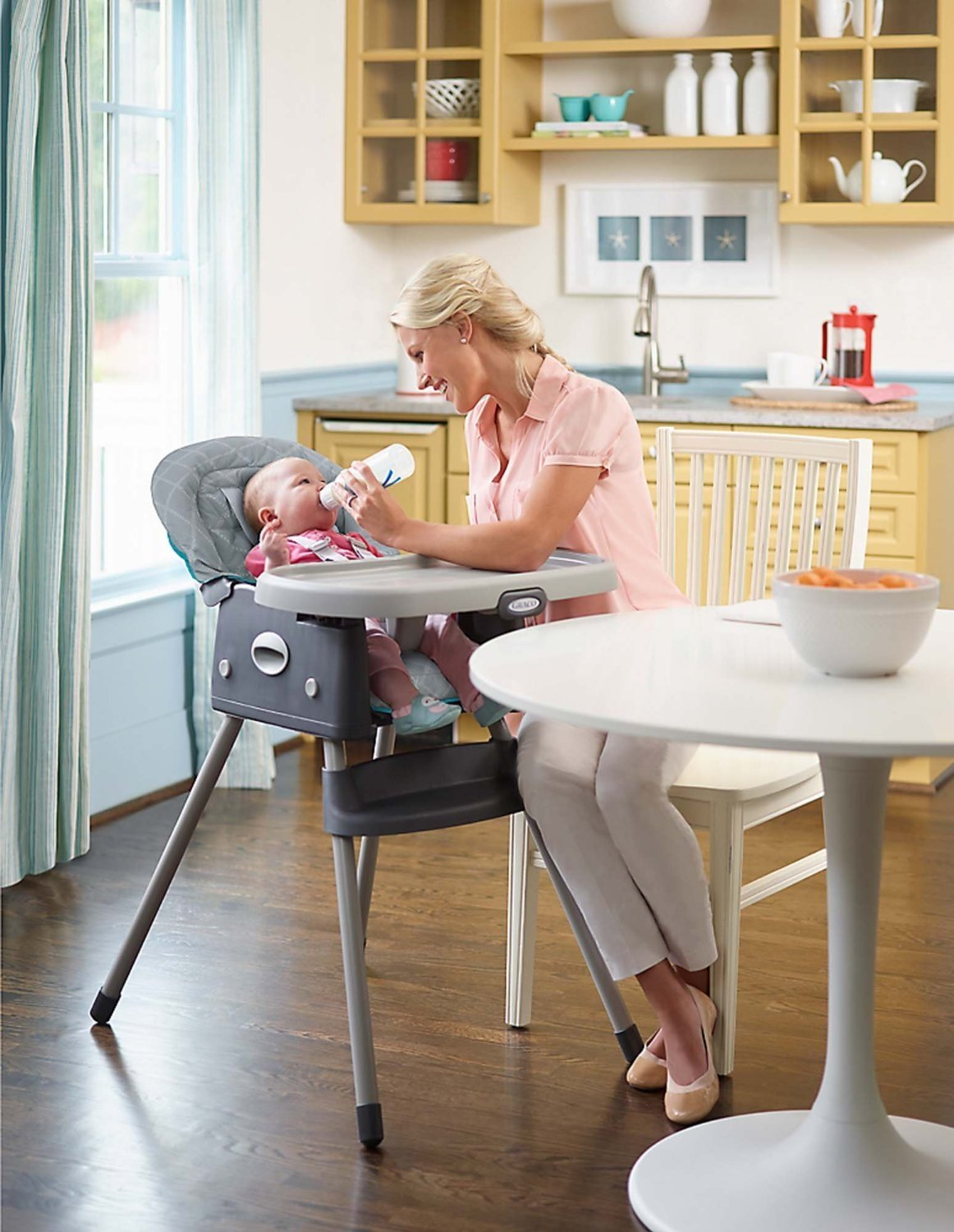 Amazon.com : Graco Finch Collection (Travel System, Highchair, On The Go  Playard U0026 Swing) : Baby