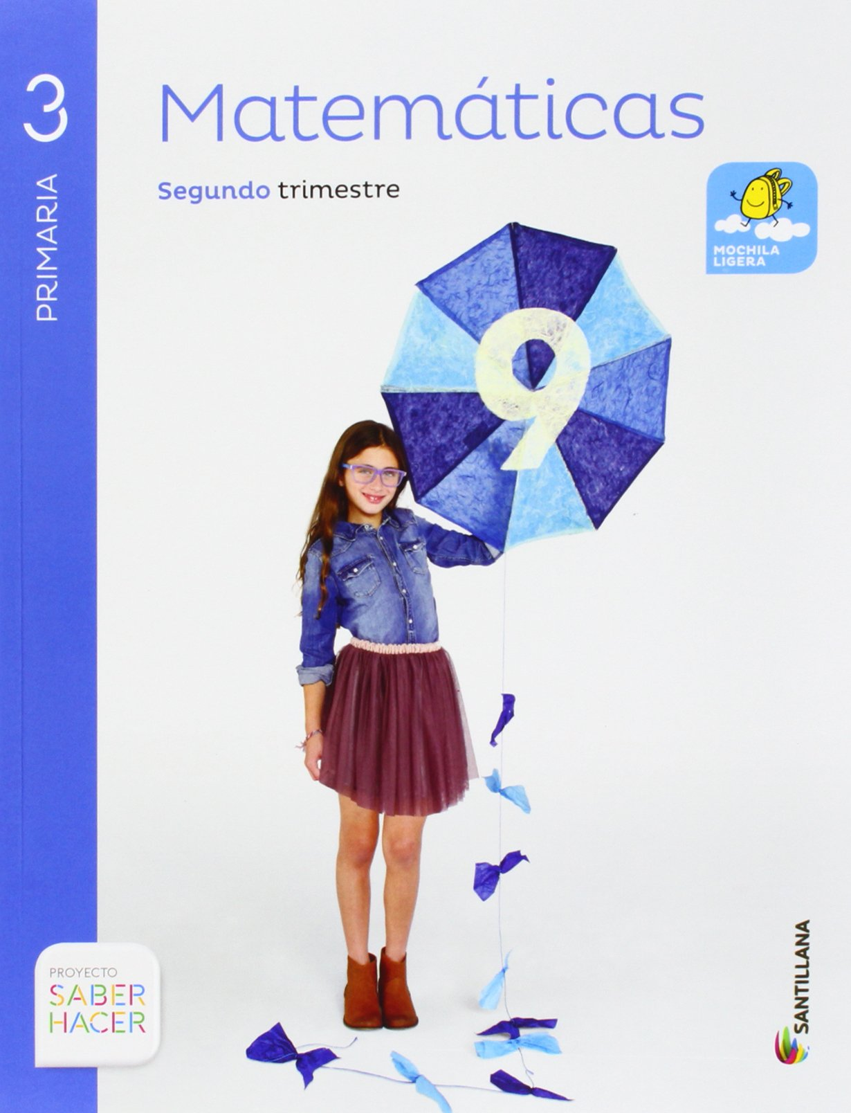Resultado de imagen de libro saber hacer lenguaje matematicas santillana 3º