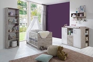 Lifestyle4living Babyzimmer Komplett Komplettset Kinderzimmer