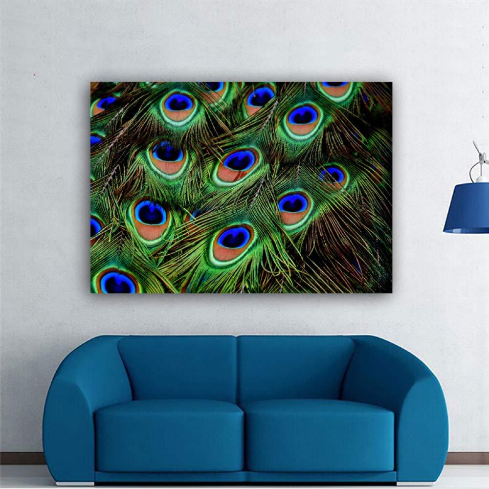 NIMCG Arte Abstracto Color árbol Desierto Lienzo Pintura ...