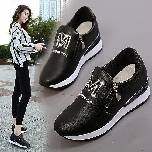 Amazon Com Seniormar Korean Style Trendy Fashion Women Shoes