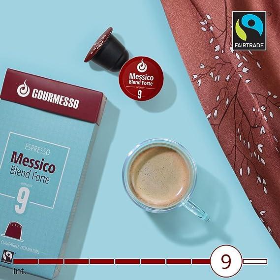 Gourmesso Messico Blend Forte (100 Capsulas): Amazon.es: Alimentación y bebidas