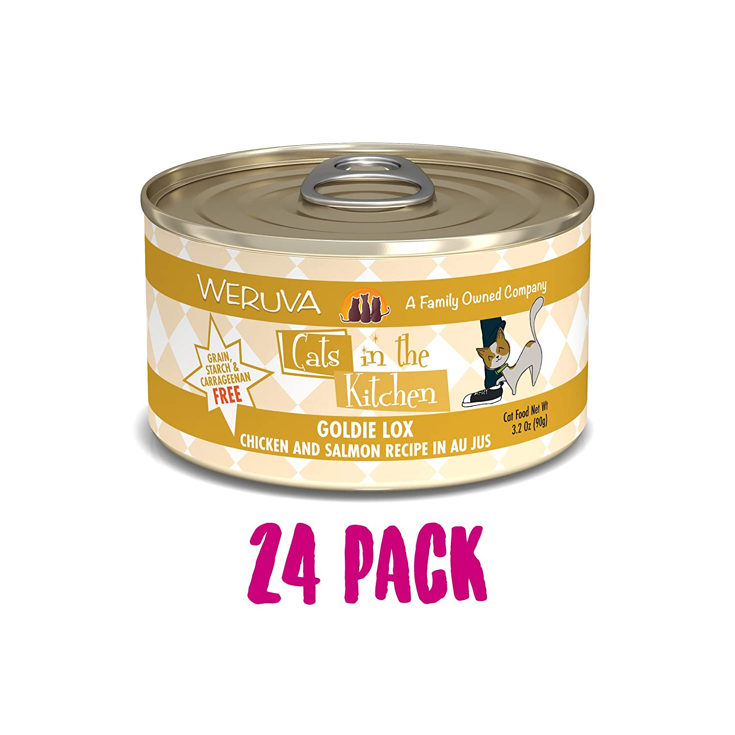 3.2-Ounce Can (Pack of 24) Cats in the Kitchen goldie Lox 24 3.2-Ounce