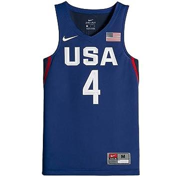 Nike Baloncesto Jersey sin Mangas ESAB Grande X-Large Juego Real ...