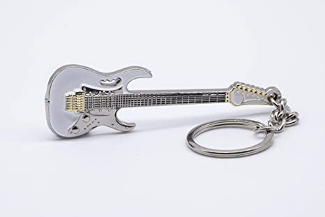 Llavero clásico de guitarra de metal macizo – Ibanez JEM 7 Steve ...