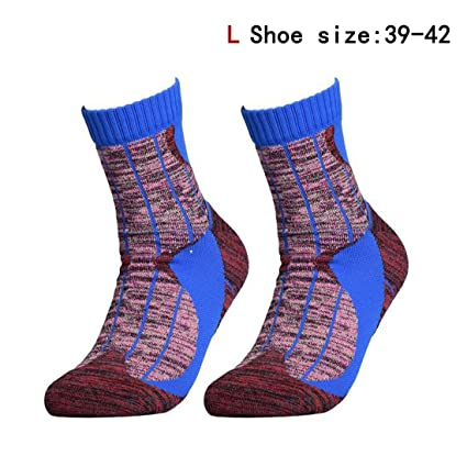 TreeMart 1 Pair Anti-Slip Winter Thermal Ski Socks Men Cotton Spandex Sport Snowboard Socks