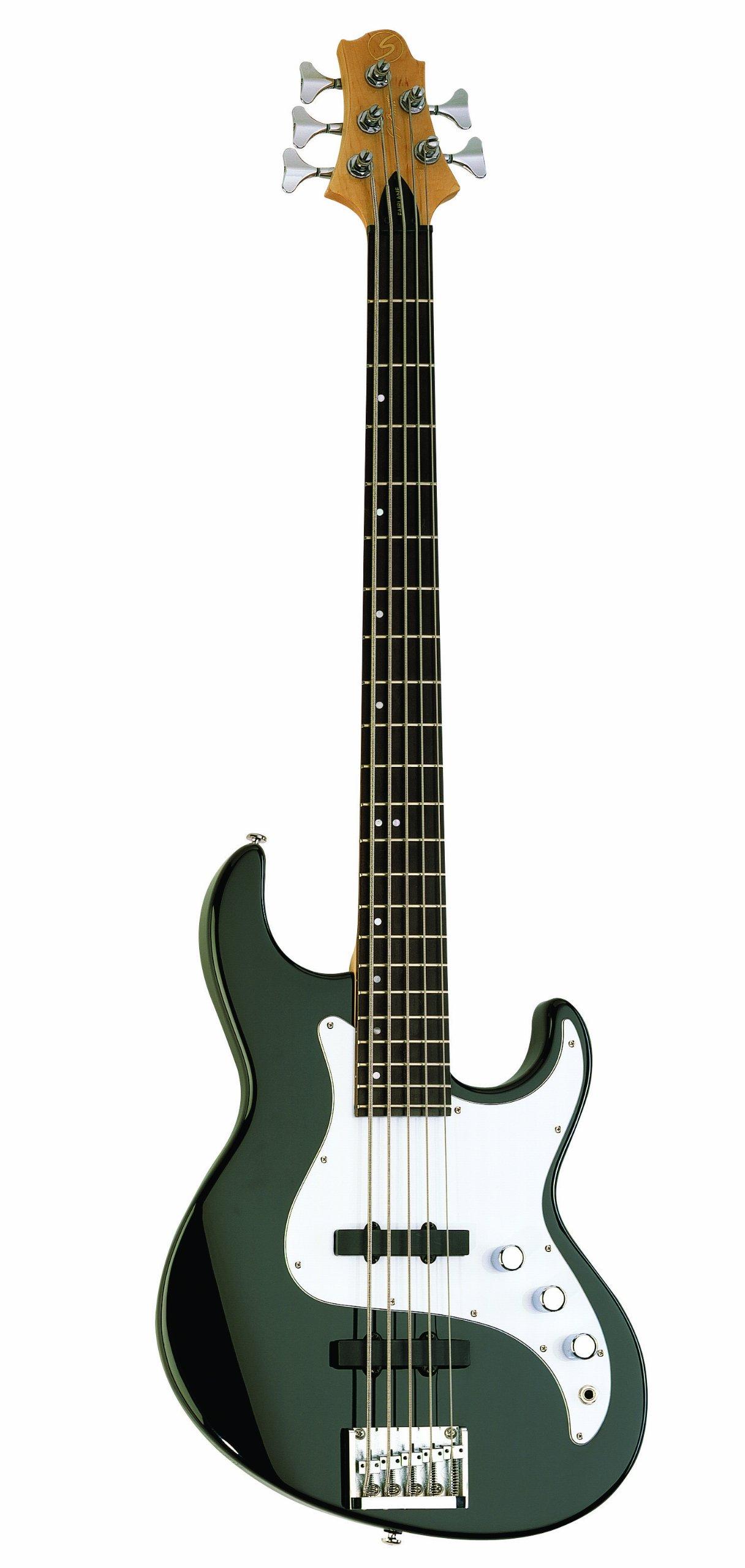 Samick Greg Bennett Design FN15 5-String Bass Guitar, Black by Samick