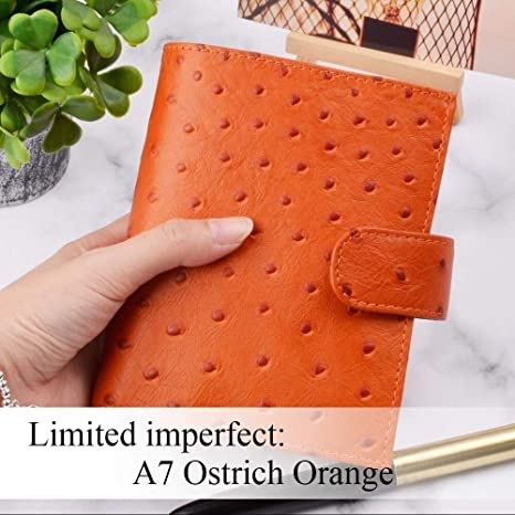 Amazon.com : Notebooks | Limited Imperfect Genuine Leather ...