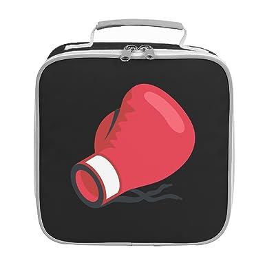 emoji boxing glove lunch bag black amazon co uk clothing