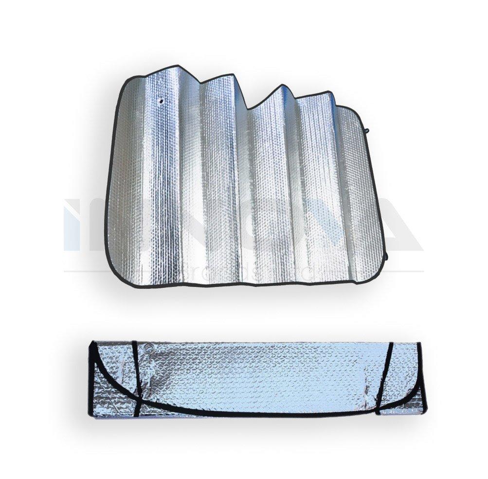 Innova® Windscreen Car Sun Shade 130 X 60cm Double-Sided Silver Bubble Cotton Sun Shade Insulation Innova Brands Ltd.