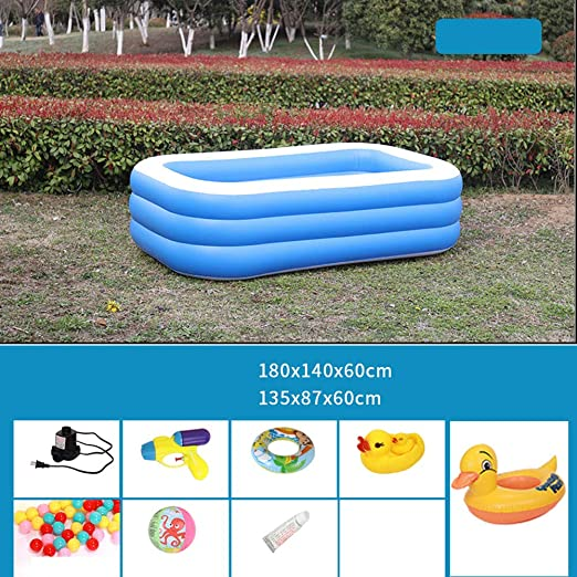 Swimming pool YUHAO - Piscina Hinchable para niños: Amazon.es: Jardín