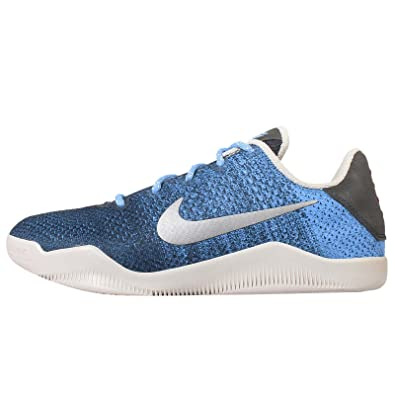 Nike Kids Kobe XI GS, BRAVE BLUE/LIGHT BONE-UNIVERSITY BLUE, Youth