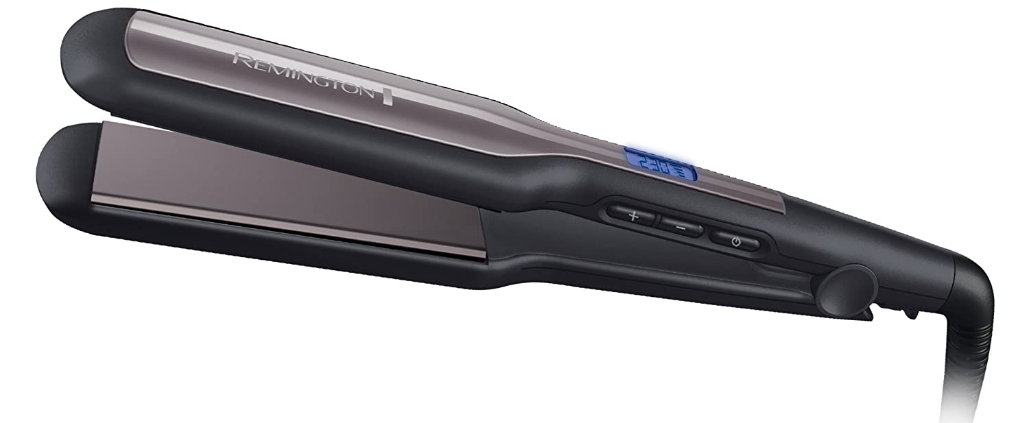 Remington S5525 Pro Straight Extra Wide Plates Advanced Ceramic Straightener by Remington