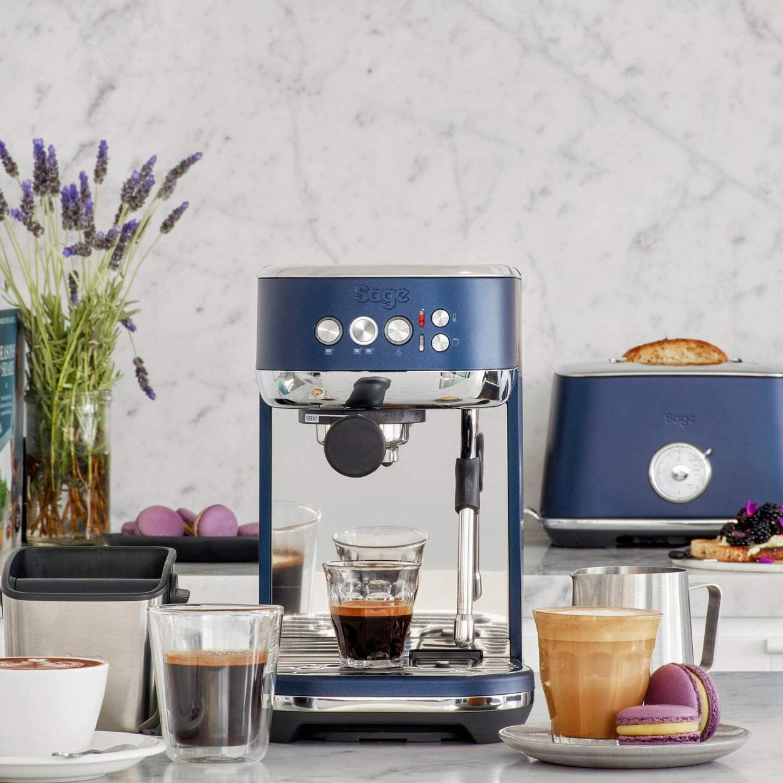 Sage Appliances SES500DBL the Bambino Plus - Cafetera espresso con ...