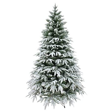 4ft 120cm luxury designer pre decorated artificial christmas tree snow covered elegant xmas home decorations