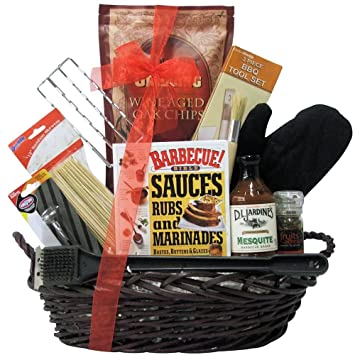 Amazon.com : Grillin' & Chillin': Father's Day Gourmet BBQ Gift ...