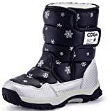 Amazon Price History for:DADAWEN Boy's Girl's Outdoor Waterproof Cold Weather Snow Boots(Toddler/Little Kid/Big Kid)