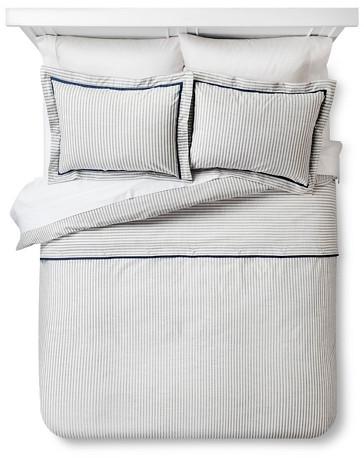 Yarn Dye Stripe Duvet Set - Threshold™ : Target