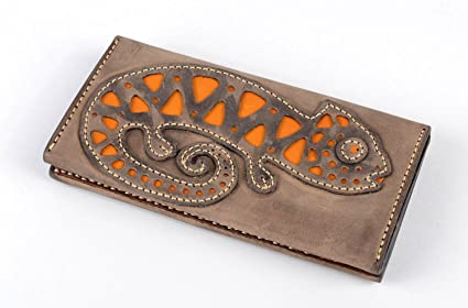 Cartera de mujer accesorio artesanal elegante regalo original de cuero