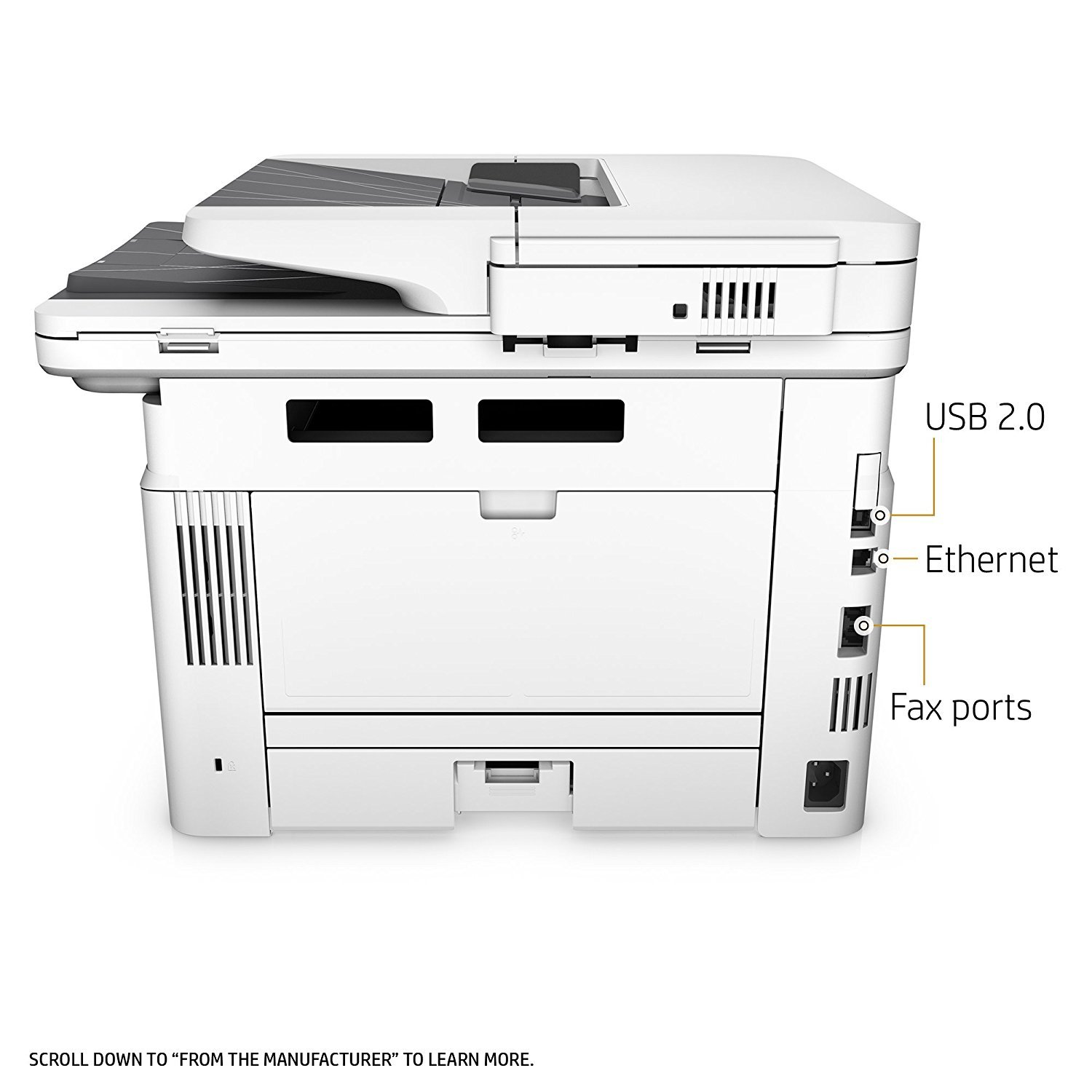 HP LaserJet Pro M426fdw All-in-One Wireless Laser Printer with Double-Sided Printing, Amazon Dash Replenishment ready (F6W15A) by HP (Image #6)