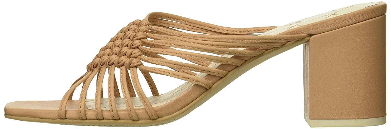 Dolce Vita Women's Delana Slide Sandal B07B9J9KXN 9 B(M) US|Natural Leather